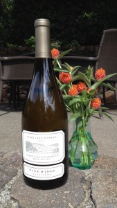 Pine Ridge Vineyards Le Petit Clos Chardonnay at Vineyard to Vintner