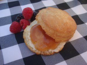 Buttermilk Biscuit with Apple Jam