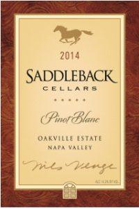 Saddleback 2014 Estate Pinot Blanc