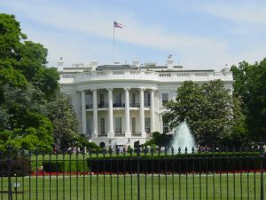White House in Washington DC, near where you'll find Washington DC Wine Bars