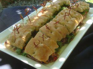 Niman Ranch Flank Steak Sandwich