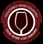 Monterey Wine List Award