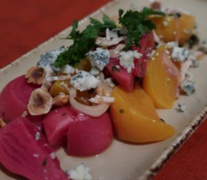 Compressed Beets with Point Reyes Blue Cheese