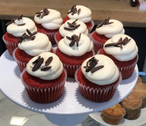 Red Velvet Cupcakes at Brasswood Estate