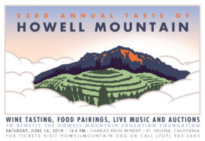 2018 Taste of Howell Mountain