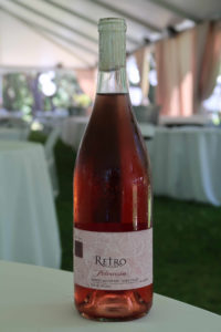 Rosé of Peloursin from Retro Cellars , a 2018 Taste of Howell Mountain participant