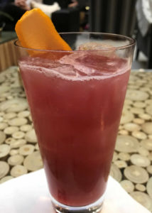 """El Diablo"" at Charlie Palmer Steak, a downtown Napa Happy Hour option"