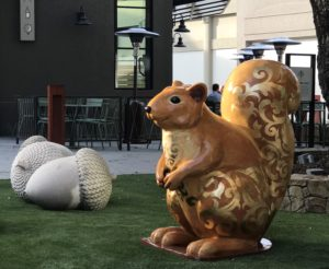 Public Art: Squirrel near Compline