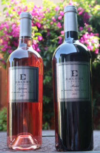 Ehlers Estate Silviane Rosé and Merlot