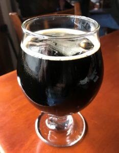 Drake's Dry Stout at Napa Happy Hour at Hop Creek Pub
