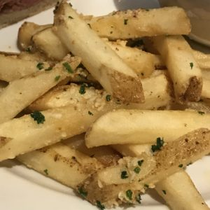 Garlic Fries at Napa Happy Hour at Trancas Steakhouse