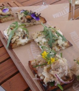 Bruschetta from Bruschetteria Food Truck, a Napa Valley Restaurant Week participant