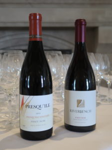 Presqu'ile and Riverbench Pinot Noirs