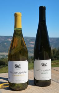 Smith-Madrone Vineyards and Winery Chardonnay and Riesling