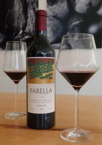 Farella Merlot at Outland Tasting Room in Napa