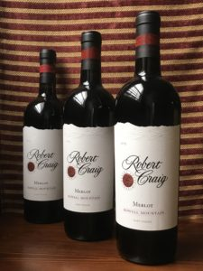 Howell Mountain Merlot from Robert Craig