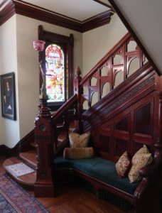 Stairwell at Ackerman Heritage House