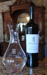 Cabernet Sauvignon from Ackerman Family VIneyards