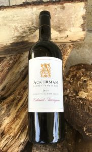 2015 Ackerman Family VIneyards Cabernet Sauvignon