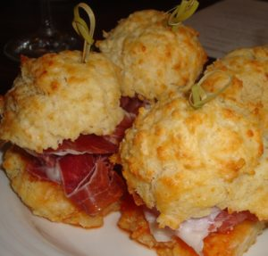 Mini Ham Sandwiches from Farmstead