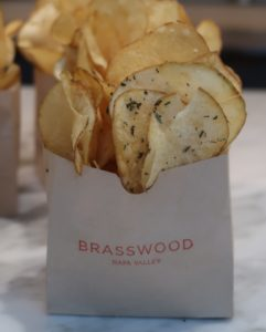Potato Chips from Brasswood, a Napa Valley Restaurant