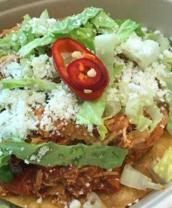 Chicken Tostada from Protéa, a Napa Valley Restaurant