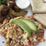 2-Egg Scramble at C Casa, a Napa Restaurant still open