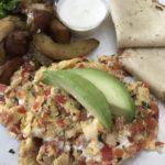 2-Egg Scramble at C Casa, a Napa Restaurant still open